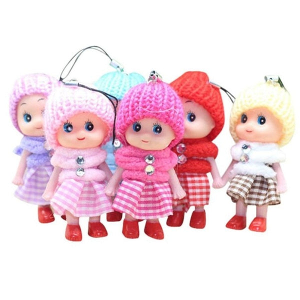 Soft Interactive Baby Dolls Toy Mini Doll For Girls and Boys