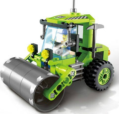 Civilized City Sweeper Legoings Assembled Model Building Blocks Toys Kit