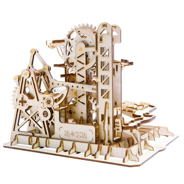Tower Coaster Magic Creative Wooden Model Building Kits