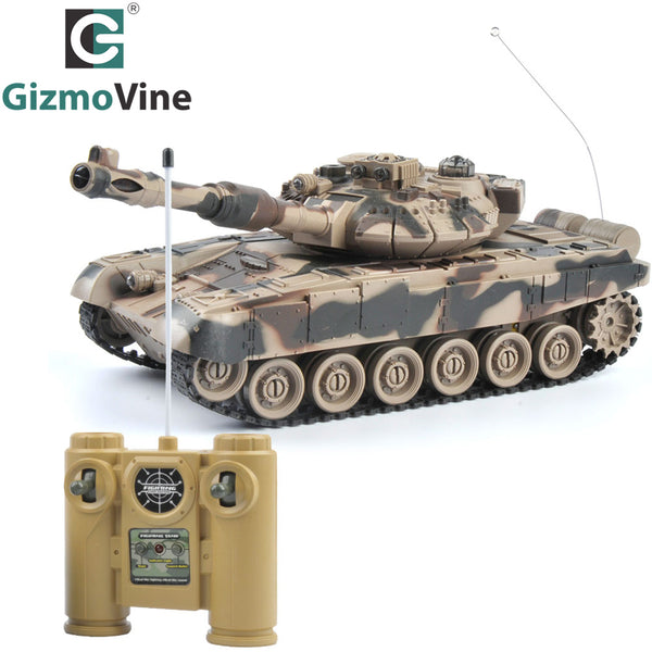 RC Battle Tank Cannon & Emmagee Remote Control Tank