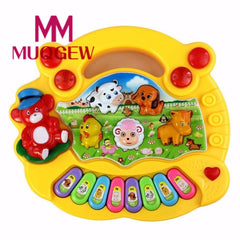 Baby Kid Animal Farm Piano Music Toy