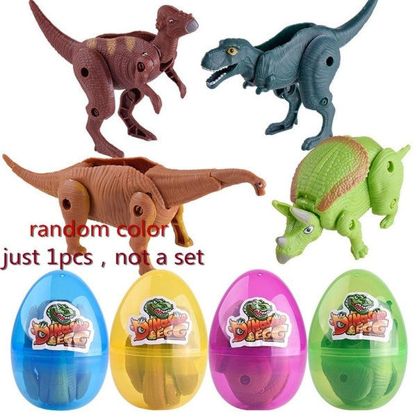 Transform Simulation Dinosaur Toy Model Deformed Dinosaur Egg Collection For Kid