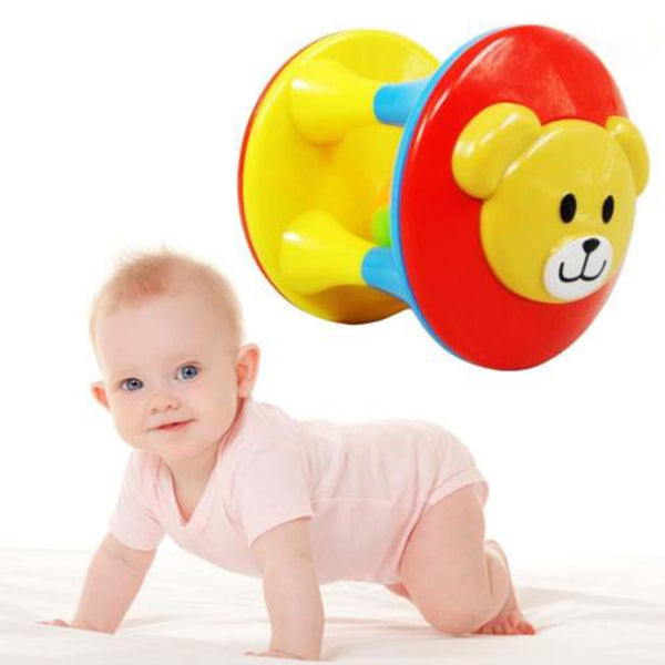 Baby intelligence training grip educational fun double-headed bear bells Toy