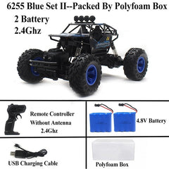 Rock Crawler Remote Control Toy Cars 4x4 Drive Off-Road Toys