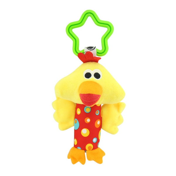 Hanging Plush Baby Toy Rattle Lovely Cartoon Animal Bell