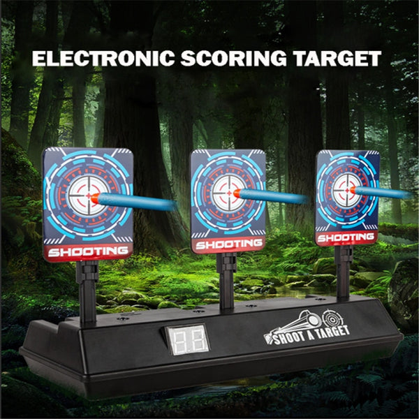 Funny High Precision Scoring Auto Reset Electric Target For Nerf gun