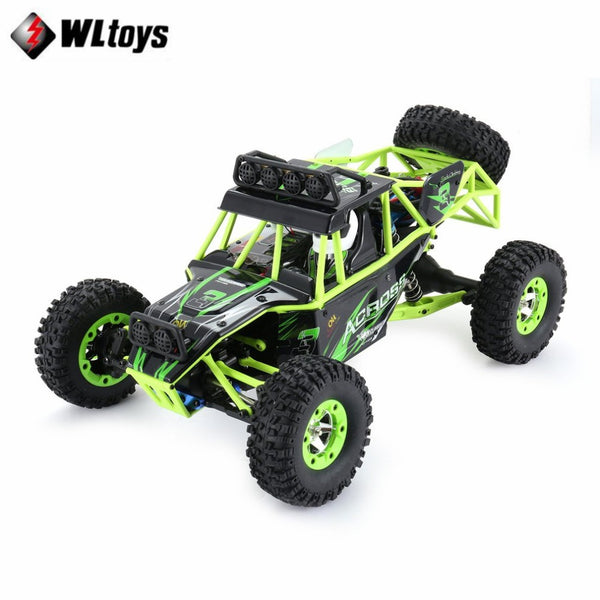 Original Wltoys 1/12 Scale 2.4G 4WD Remote Control Car 50KM/H High speed Car