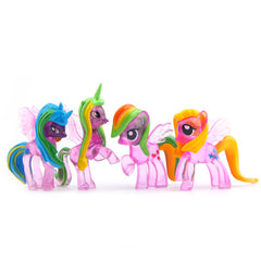 My Little Pony Toys Friendship Is Magic PVC Action Figures Set Collectible Model Dolls