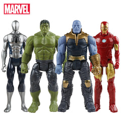 Avengers Toys Thanos Hulk Buster Spiderman Iron Man Captain Action Figure Dolls