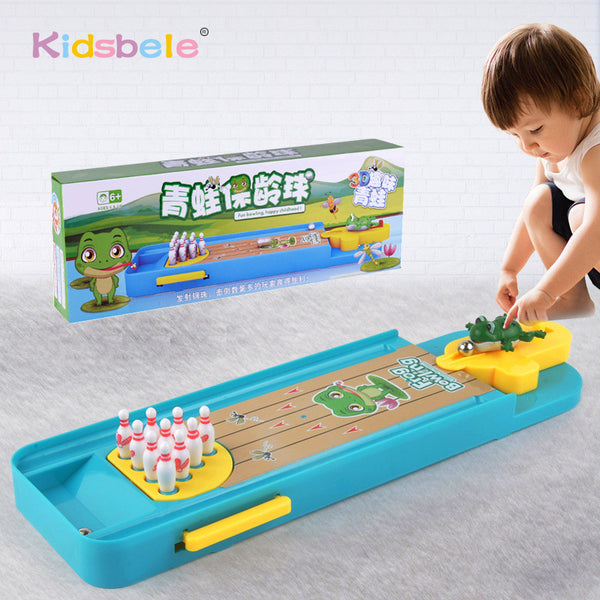Mini Desktop Bowling Game Toy Funny Indoor Parent-Child Interactive Table