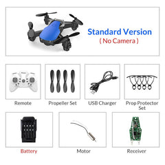 Mini Drone With/Without HD Camera High Hold Mode RC Quadcopter
