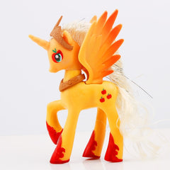 Princess Celestia Luna Pinkie Pie Rainbow Dash Unicorn PVC Action Figure Collection Model Doll