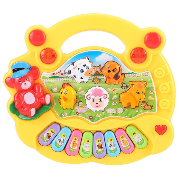 Kids Animal Farm Piano Developmental Music Educational Toys For Children