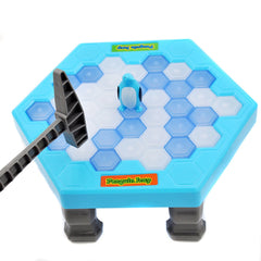 Penguin Ice Kids Puzzle Desk Game Break Ice Hammer Trap Party Toy