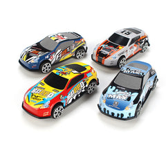 6 Pcs/set Cartoon Mini Car Set Toy