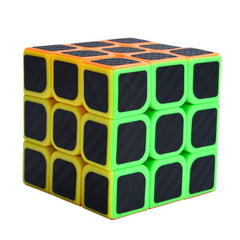 Speed Cube Carbon Fiber Sticker for Smooth Magic Cube