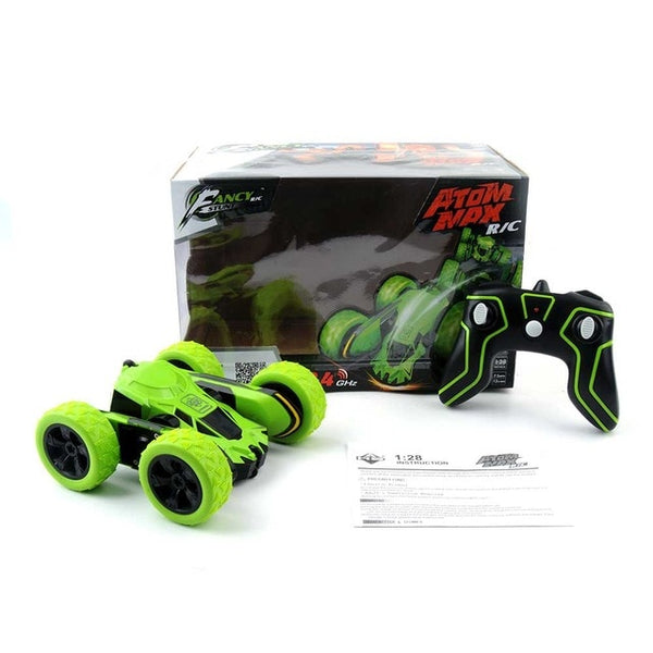 RC Car 360 Degree Remote Control Car Off Road Electric Race Double Sided toys