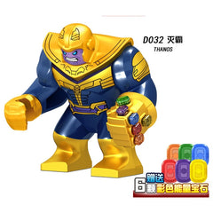 Super Heroes Model Building Blocks