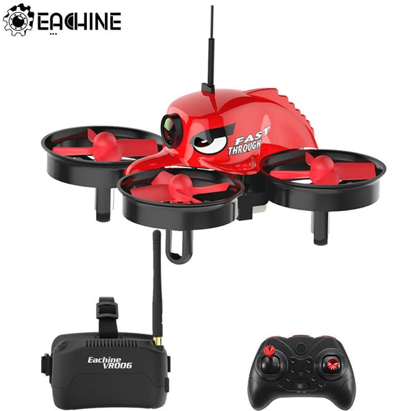 Eachine E013 Micro FPV RC Racing Quadcopter With 5.8G 1000TVL 40CH Camera VR006 VR-006 3 Inch Goggles VR