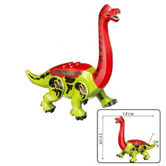 Jurassic Dinosaurs World Park Dinosaur Raptor Building Blocks Set