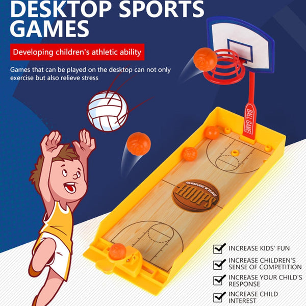 Basketball Shooting Game Table Game Toy for Kids
