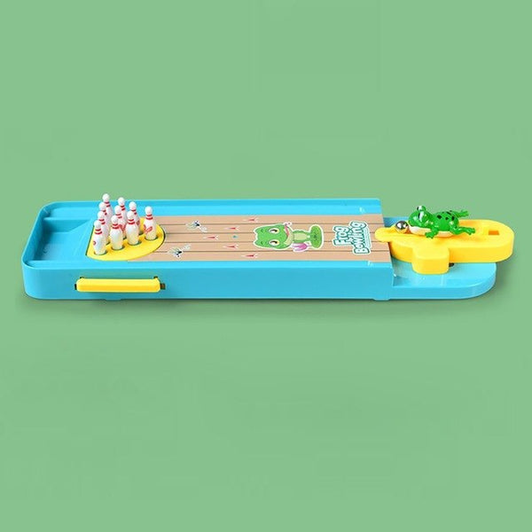 Cartoon Mini Bowling Set Frog Bowls Children Toy Shooting Puzzle