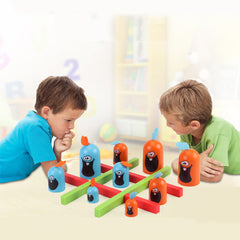 Skill Building Educational Toy juegos Indoor Gobblet Gobblers Board Game