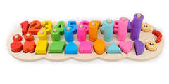 Materials Learn To Count Numbers Matching Digital Shape Match Early Education Teaching Math Toys