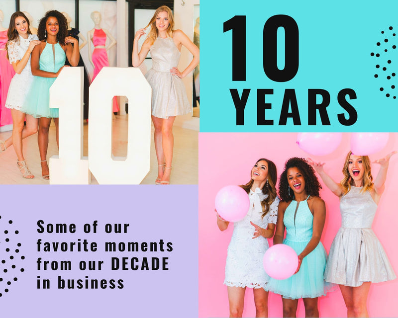 Favorite moments from our DECADE in business