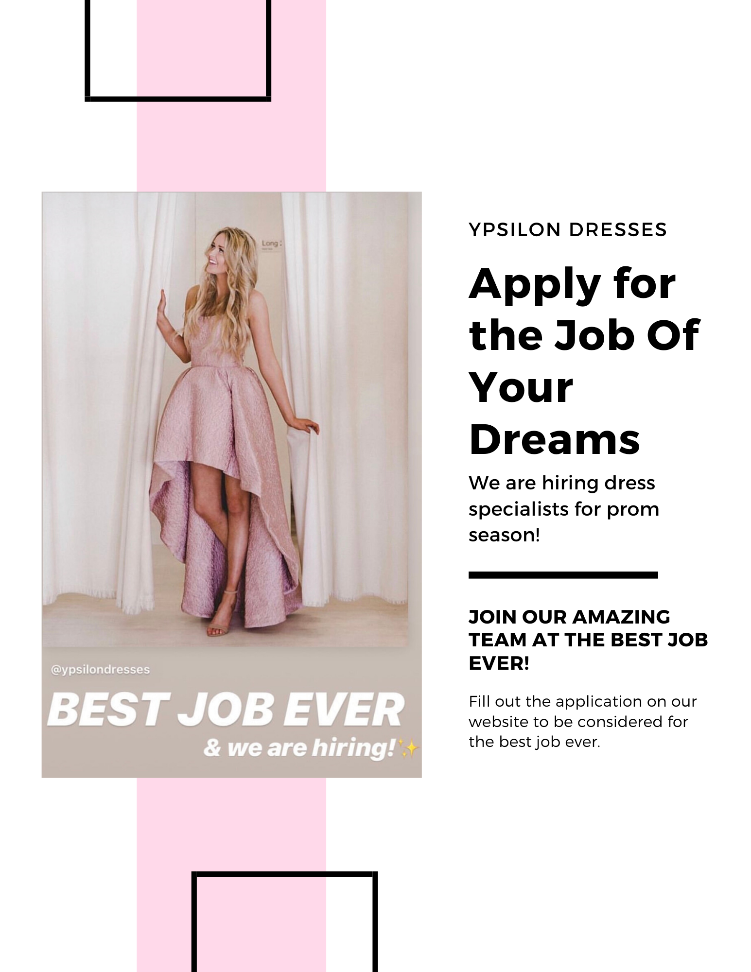 apply for the job of your dreams