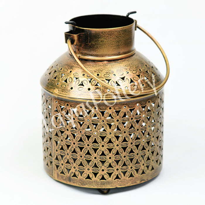 Metal Lantern Cylindrical