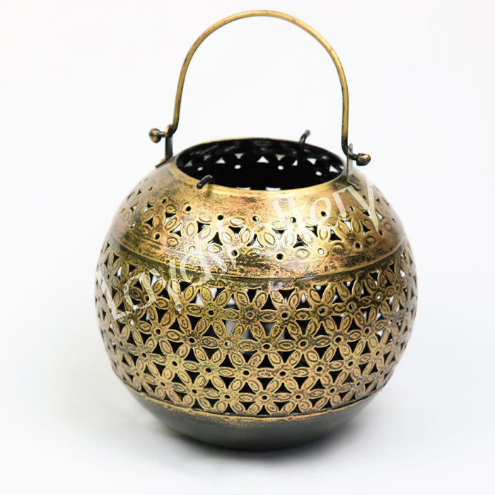 Metal Lantern Round Shaped large