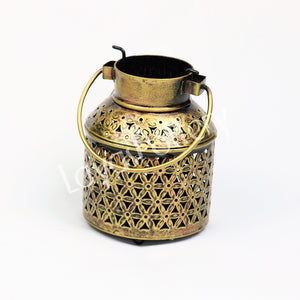 Metal Lantern Cylindrical small