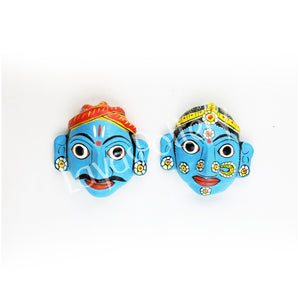 Cherial Mask Pair Medium Blue