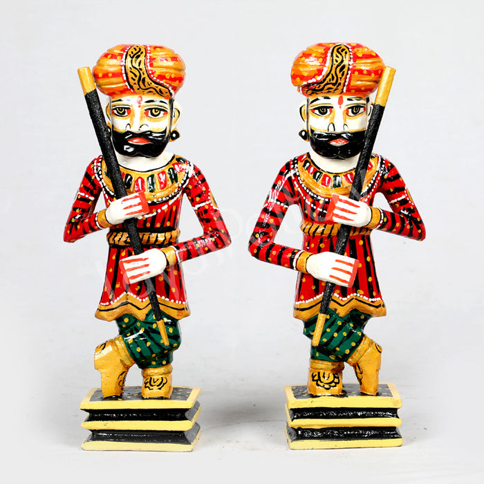 Wooden Soldier darbaans or gatekeepers -Set 2- Small
