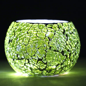 Green Tea Light Holder