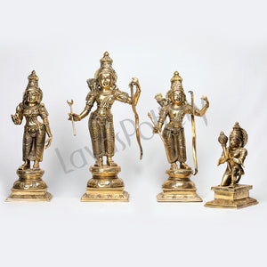 Brass Sri Rama Darbar  set
