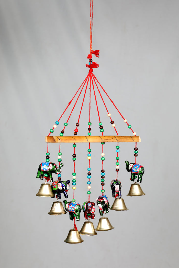 Decorative Windchime with Good luck Elephant Charm