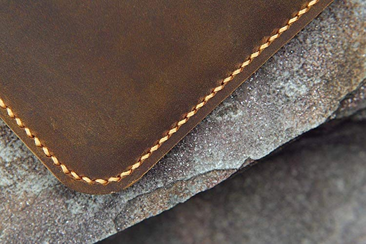 Handmade Genuine Leather Macbook Sleeve Case - Vintage Leather Co