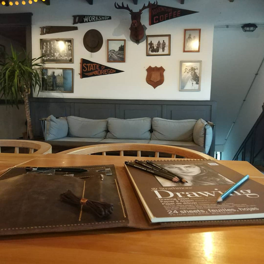 Leather Sketch Artist Portfolio - Vintage Leather Co