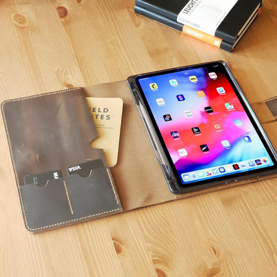Personalized iPad Pro 11 Leather Case