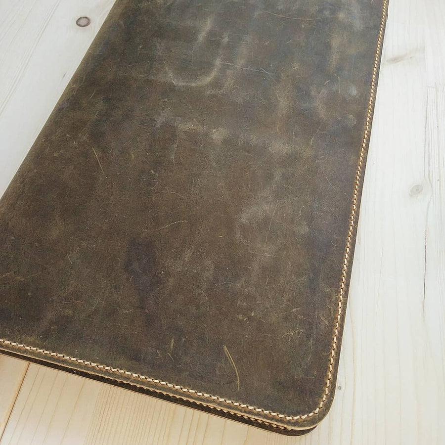 Legal Size Padfolio Leather Business Resume Folder - Vintage Leather Co