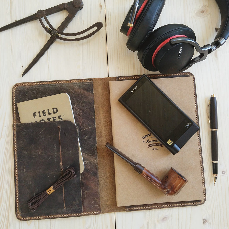 Leather Journal Audiophile Edition - Vintage Leather Co