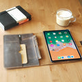 iPad Pro 11 Leather Case with Apple Pencil Holder