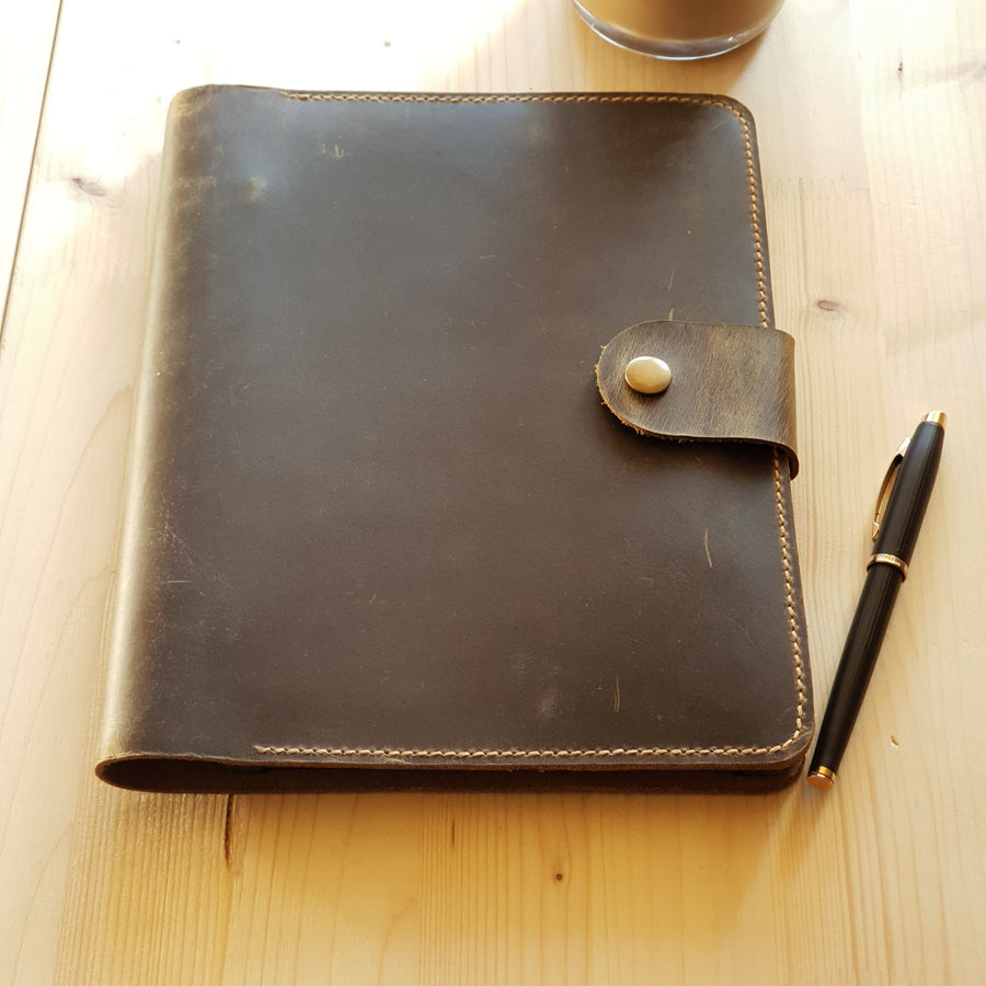 Distressed Leather iPad Pro Case Cover