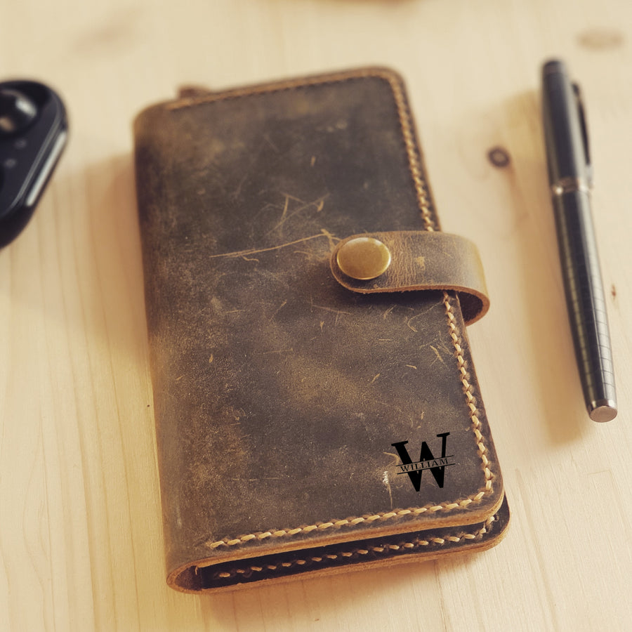 Leather iPhone 11 Pro Wallet Case