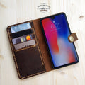 iPhone X Leather Wallet Cover