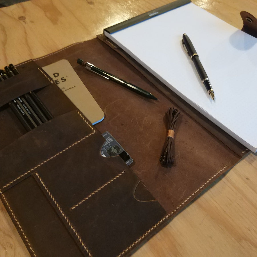 Leather Padfolio Business Organizer