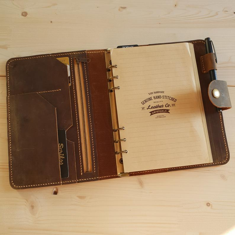 Leather Planner a5