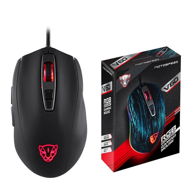 Macro Programming Gaming Mouse